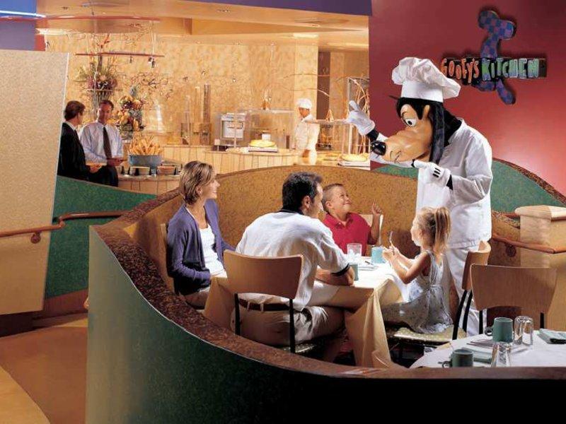 Disneyland Hotel Anaheim Restaurant
