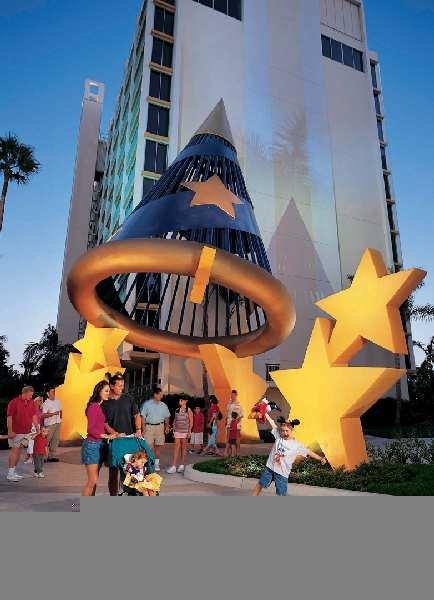 Disneyland Hotel Anaheim Außenaufnahme