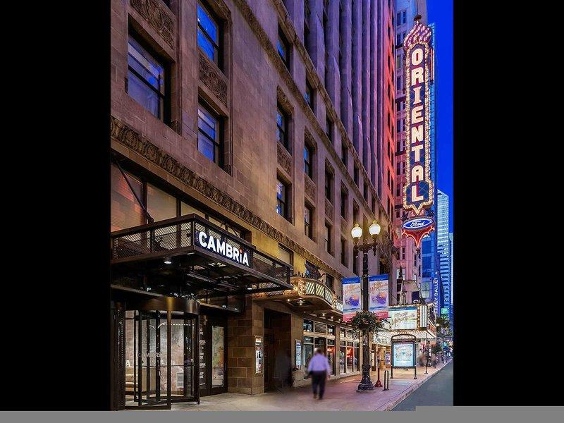 Cambria Hotel & Suites Chicago Loop - Theatre District Außenaufnahme