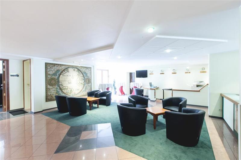 Best Western County House of Brussels Lounge/Empfang