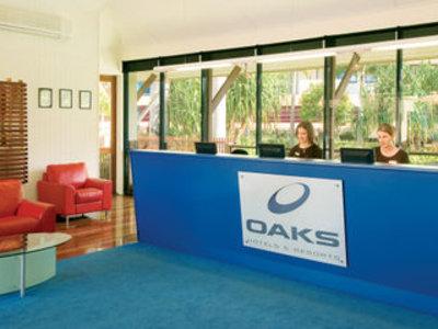 Oaks Seaforth Resort Lounge/Empfang