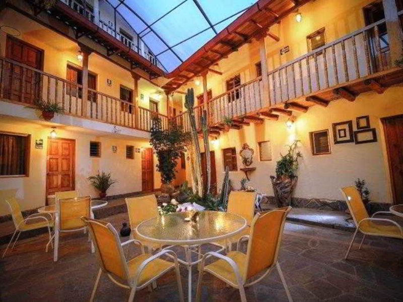 Apu Huascaran Hostal Lounge/Empfang