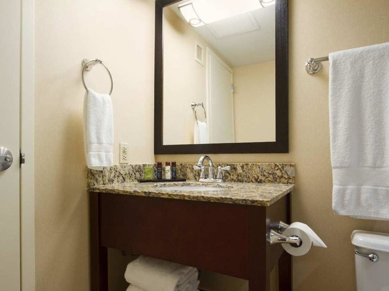 Embassy Suites by Hilton Dallas Market Center Badezimmer
