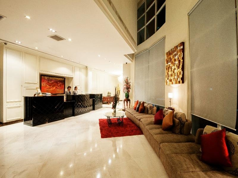Bless Residence Lounge/Empfang