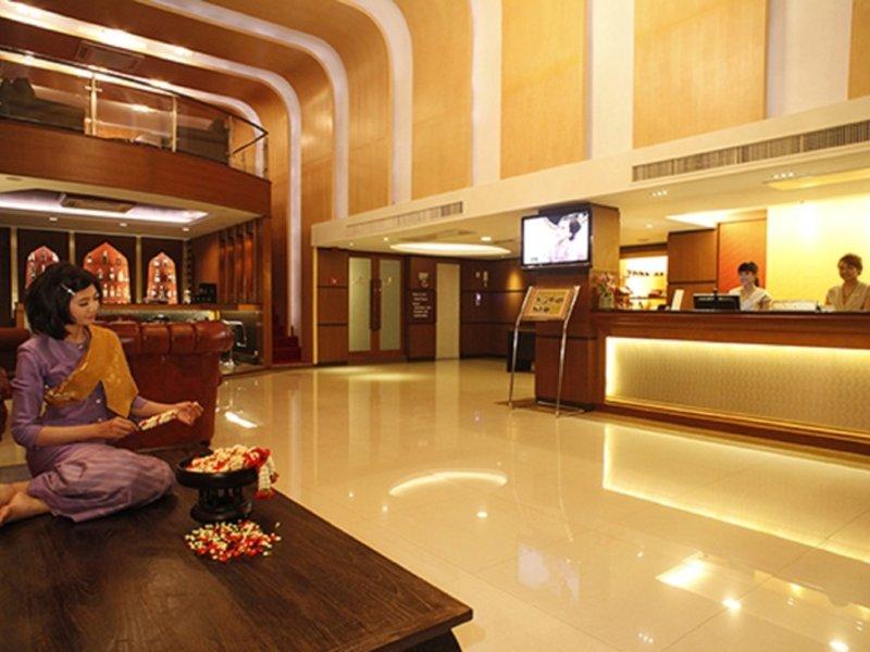 Suvarnabhumi Suite Lounge/Empfang