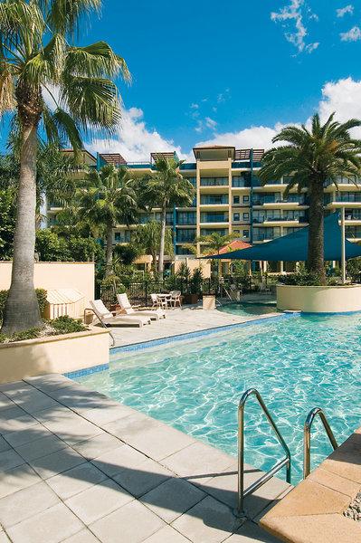 Oaks Seaforth Resort Pool