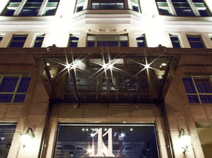 11 Mirrors Design Hotel Außenaufnahme