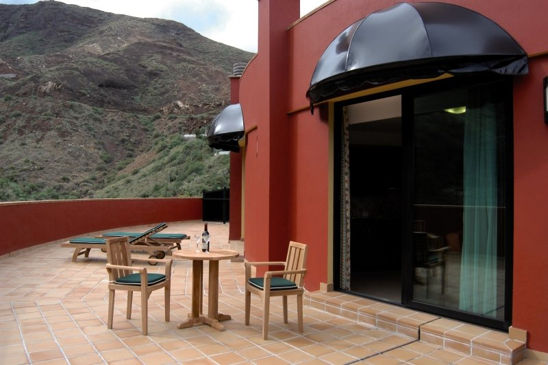 Aparthotel El GaleonTerasse