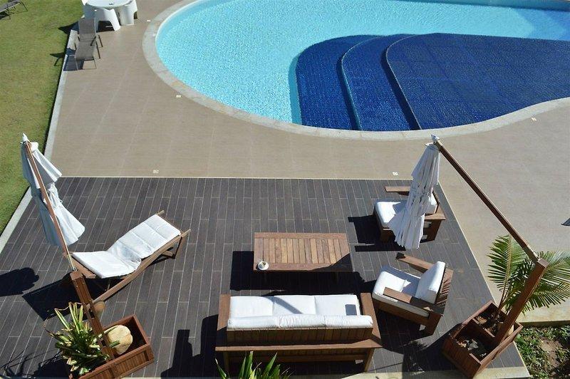 Catussaba Suites Terrasse