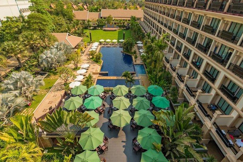Angkor Miracle Resort & Spa Garten
