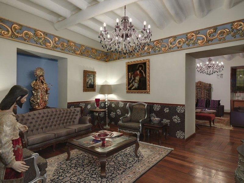 Aranwa Cusco Boutique Hotel Lounge/Empfang