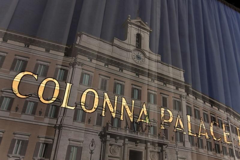 Colonna PalaceAuߟenaufnahme
