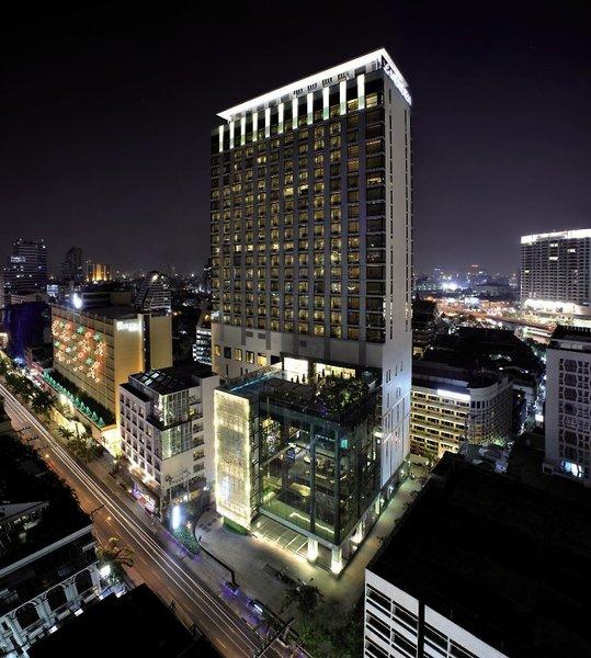 Le Meridien Bangkok Außenaufnahme