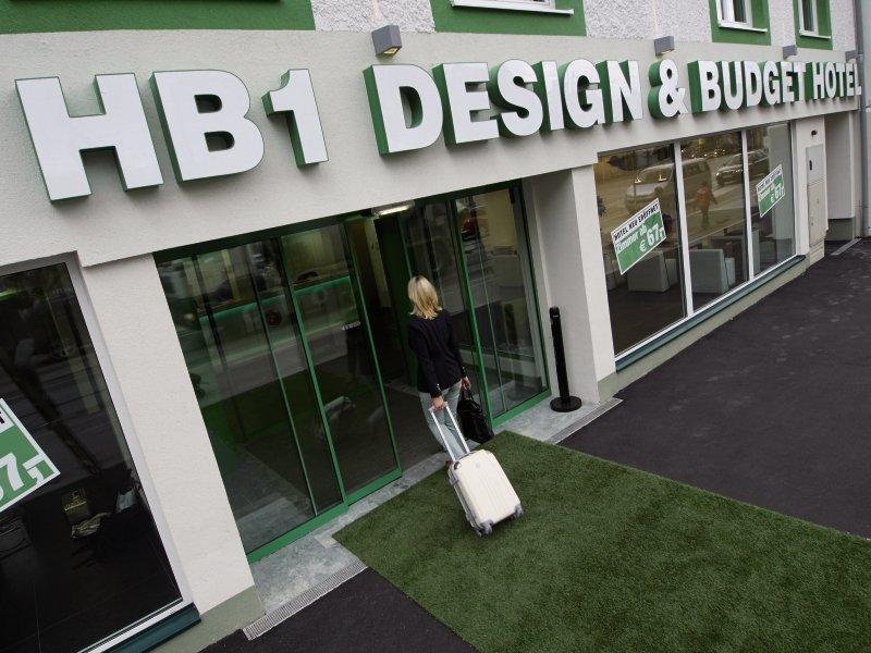 HB1 Design & Budget Hotel Wien-Schönbrunn Außenaufnahme