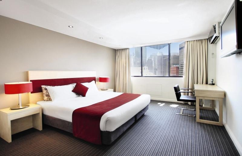 Rendezvous Studio Hotel Sydney Central Wohnbeispiel