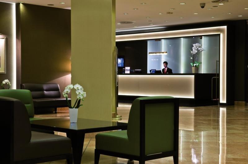 Radisson Blu Sobieski Hotel Warsaw Lounge/Empfang