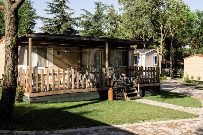 Camping Altomincio Family Park Terrasse