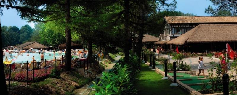 Camping Altomincio Family Park Garten