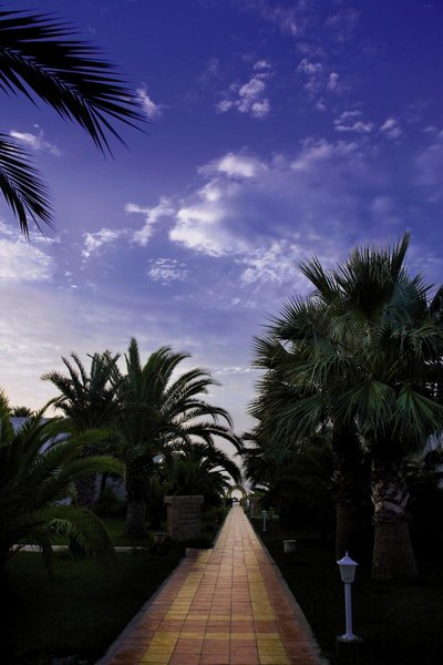 Dar Khayam Hotel Garten