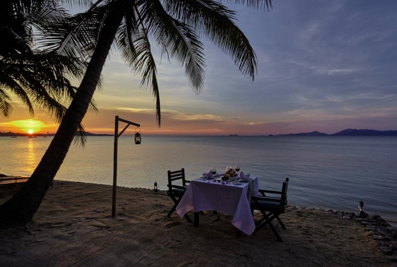 Paradise Beach ResortRestaurant