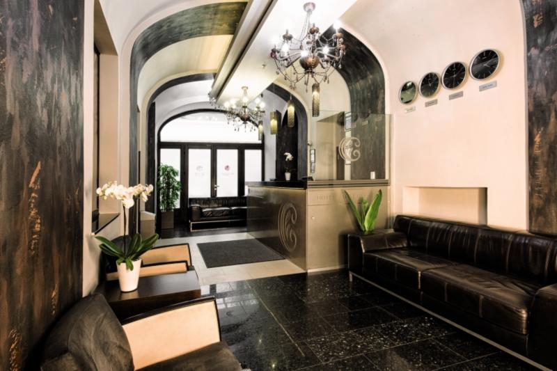 Carat Boutique Hotel Lounge/Empfang