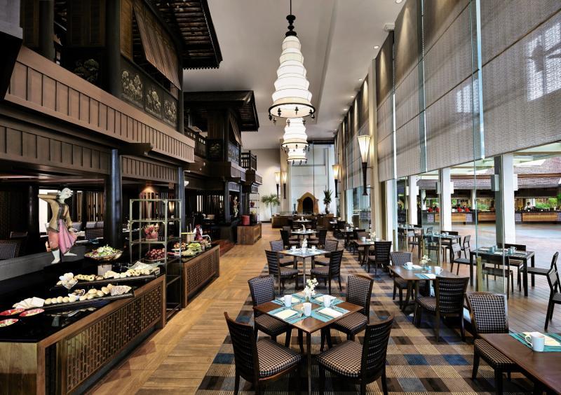 Anantara Bangkok Riverside Resort & Spa Lounge/Empfang