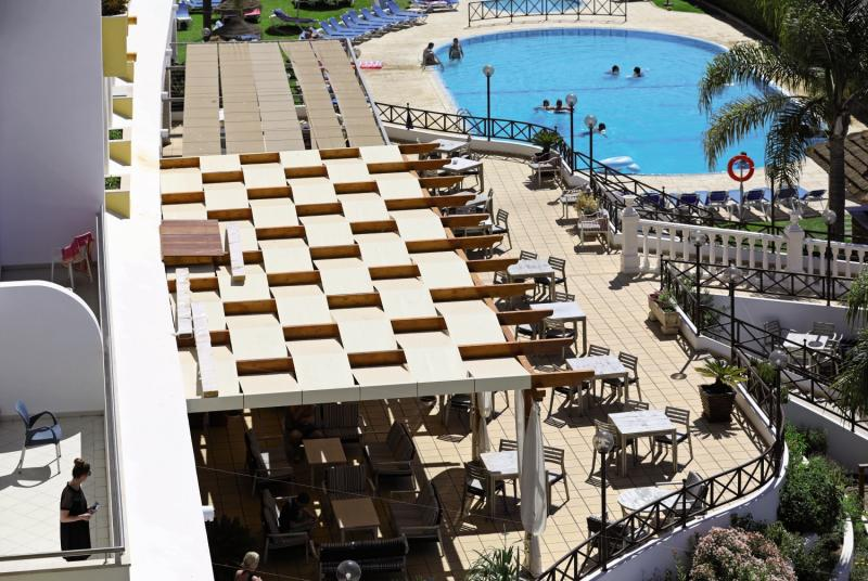 Paladim & Alagoa Mar Hotel Terrasse