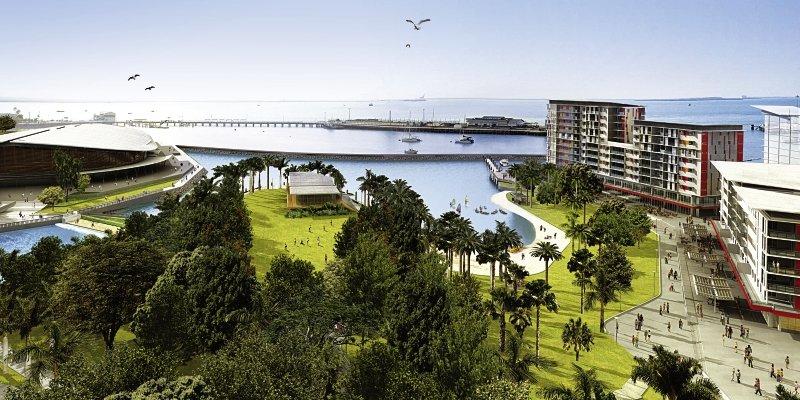 Vibe Darwin Waterfront Landschaft