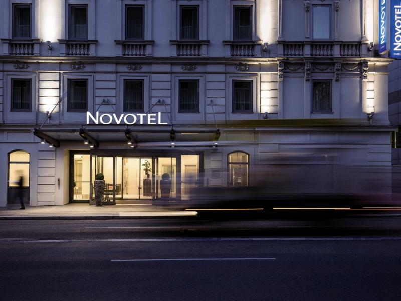 Novotel Wien City Außenaufnahme