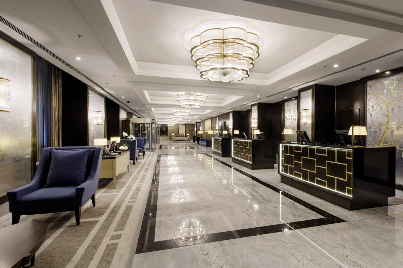 Hilton Budapest Lounge/Empfang