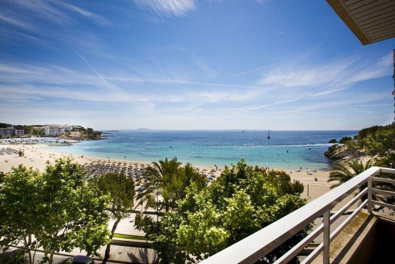 Agua Beach - Erwachsenenhotel Terrasse