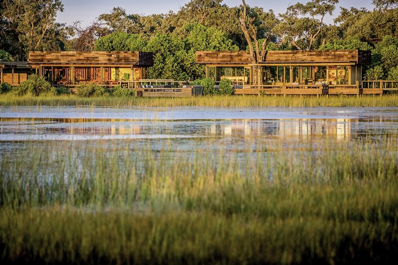Vumbura Plains Camp Landschaft