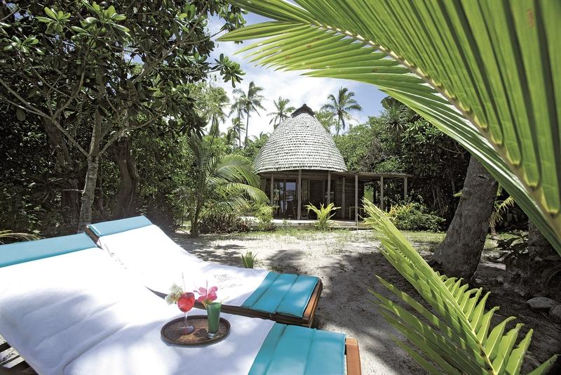 Fafa Island Resort Terrasse