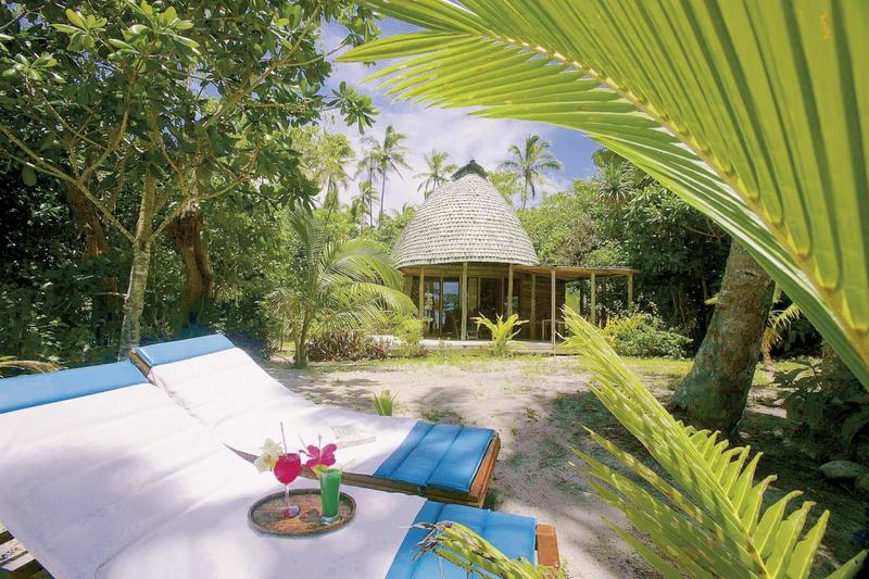 Fafa Island Resort Garten