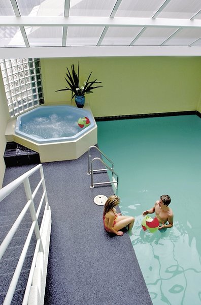 Salamanca Inn All Suite Hotel Badezimmer