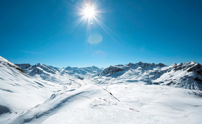 ROBINSON CLUB ALPENROSE ZÜRS Landschaft