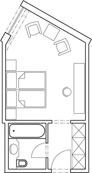 ROBINSON CLUB ALPENROSE ZÜRS Modellaufnahme