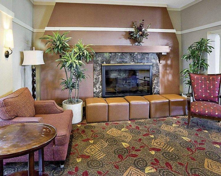 Comfort Inn Airport Lounge/Empfang