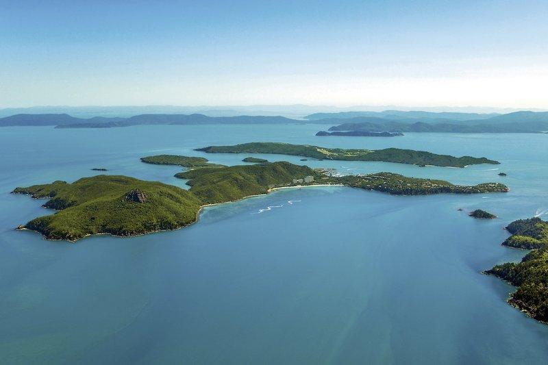 Hamilton Island Resort Landschaft