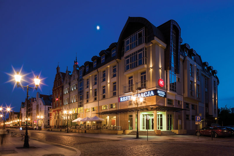 Hotel Elblag Außenaufnahme