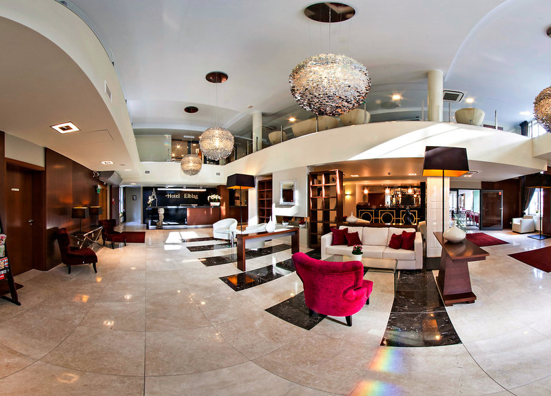 Hotel Elblag Lounge/Empfang