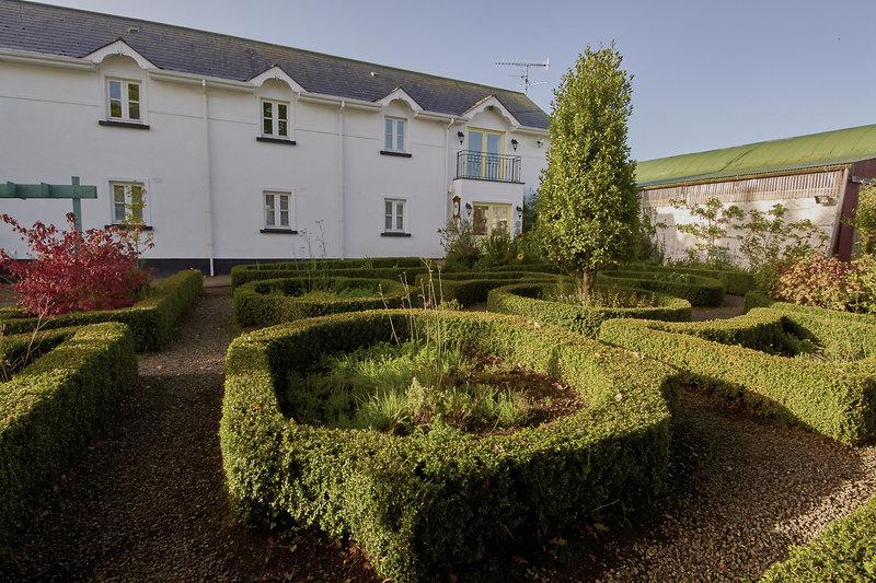 Ballyknocken House Garten