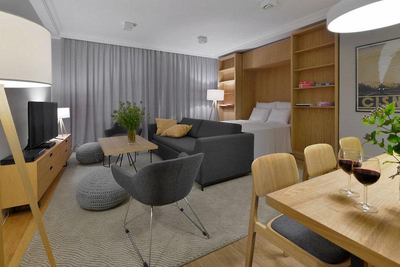 Stradonia Serviced Apartments Lounge/Empfang
