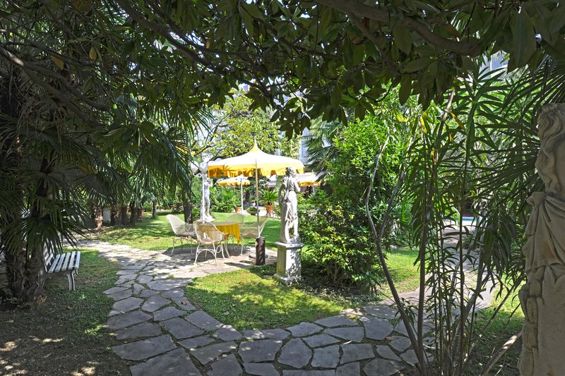 Patria Terme Garten