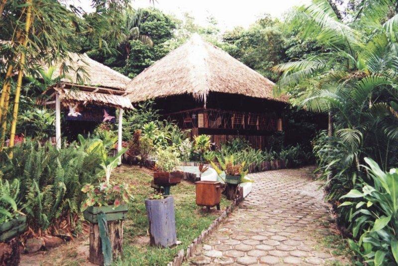 Amazon Village Jungle Lodge Außenaufnahme