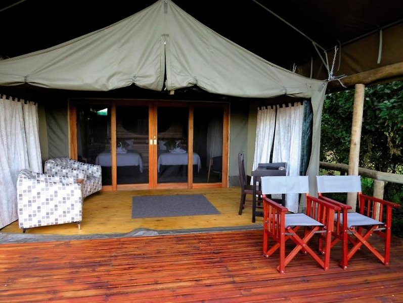 Rra Dinare Camp Terrasse