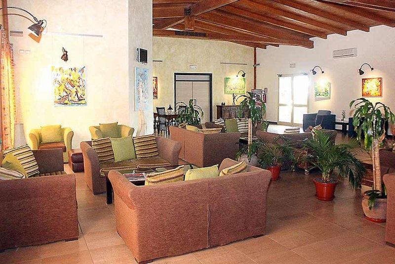 Santantao Art Resort Lounge/Empfang