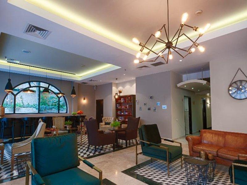 The Eldan Hotel Lounge/Empfang
