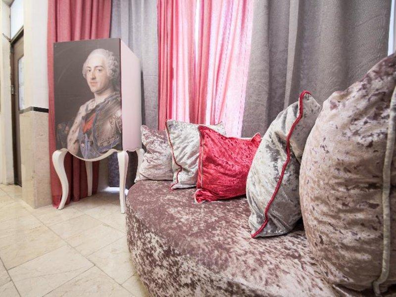 Jonathan Hotel in Ben Yehuda Lounge/Empfang