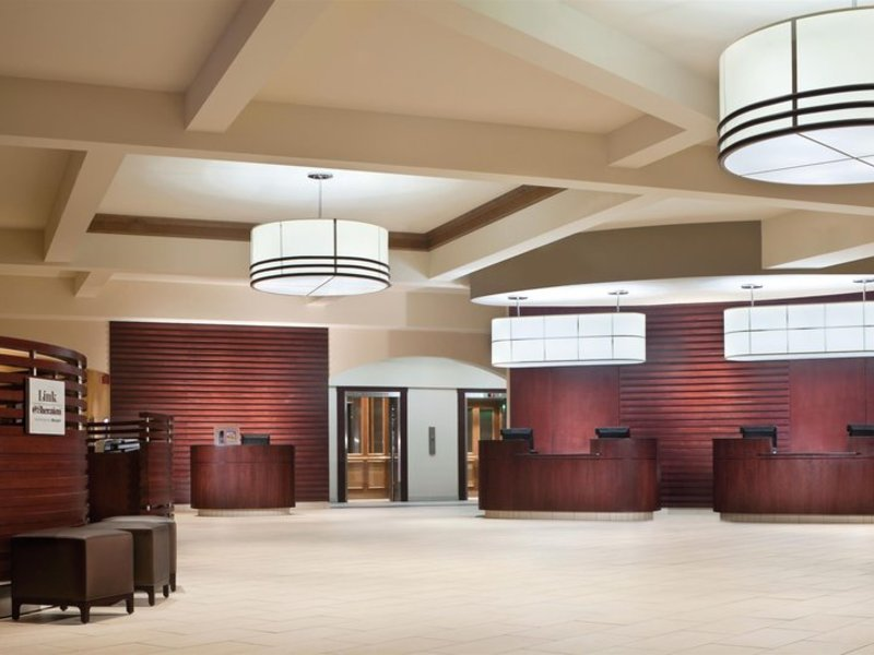 Sheraton Red Deer Hotel Lounge/Empfang